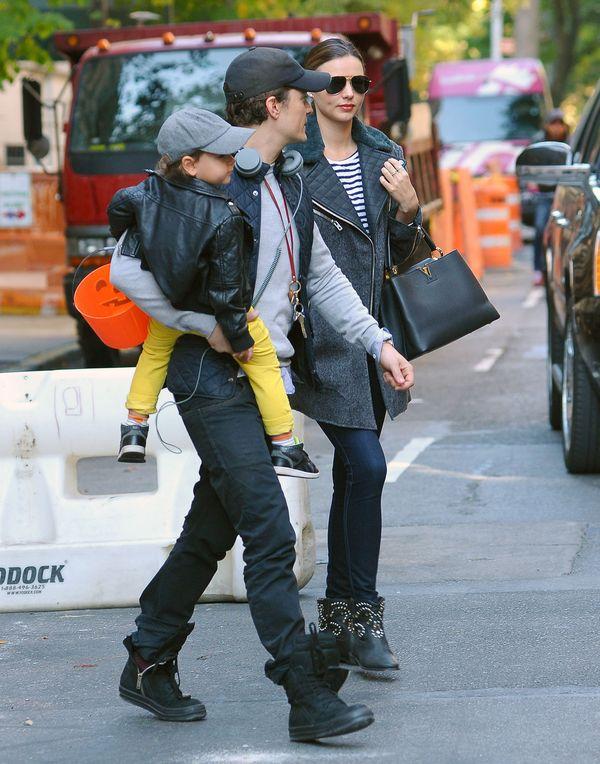 Miranda zabrała Flynna na próbę Orlando Blooma (FOTO)