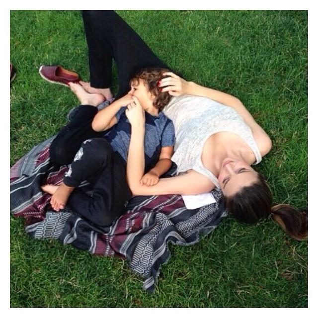 Miranda Kerr najpiękniejsza mamą Instagrama? (FOTO)