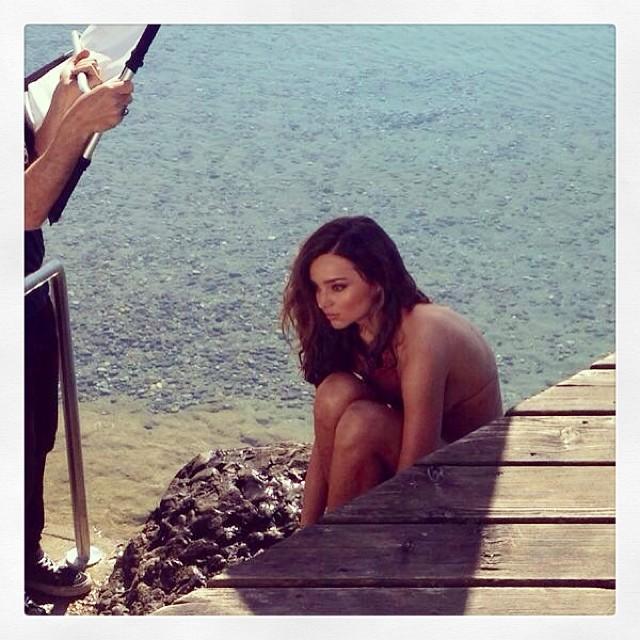 Miranda Kerr gorąca w hiszpańskim Elle (FOTO)