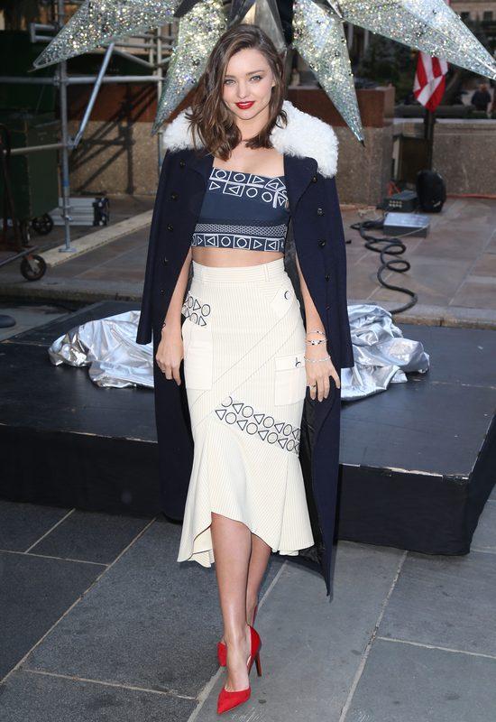 Miranda Kerr odsłoniła gwiazdę Swarovskiego (FOTO)