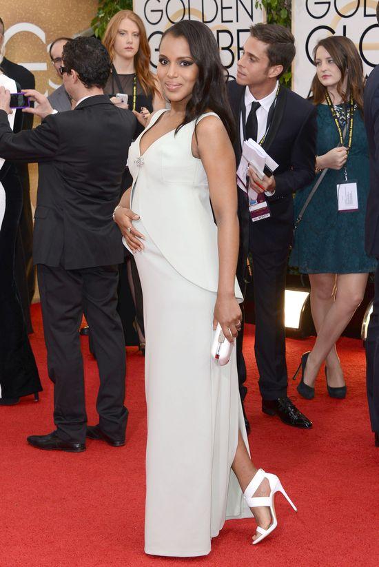 Gwiazdy w ciąży na Złotych Globach (FOTO)
