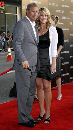 Kevin Costner uwielbia być ojcem