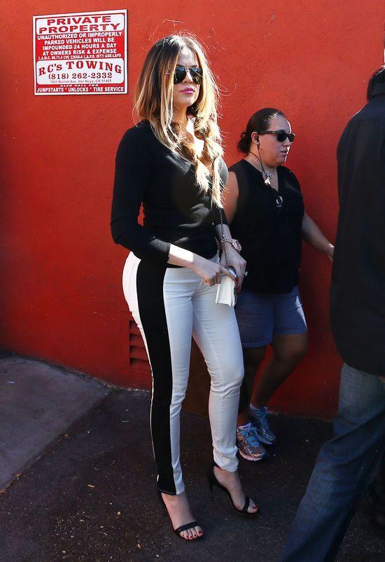 Khloe Kardashian: Nie mogę kontrolować swojego camel toe