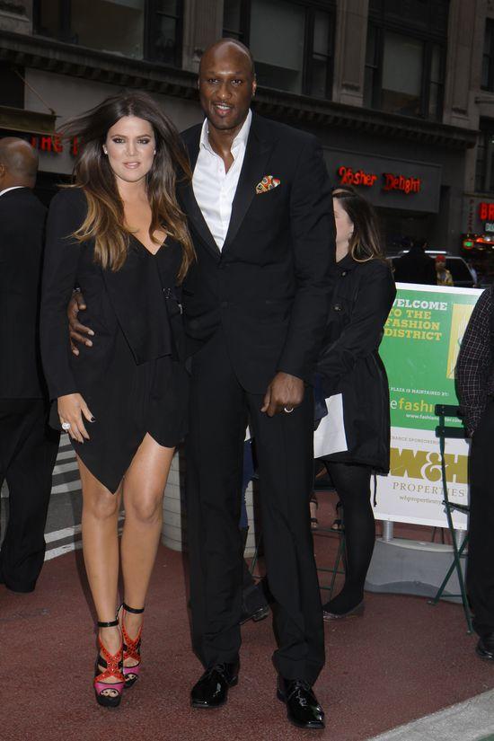 Lamar Odom i Khloe Kardashian wrócili razem do swojego domu