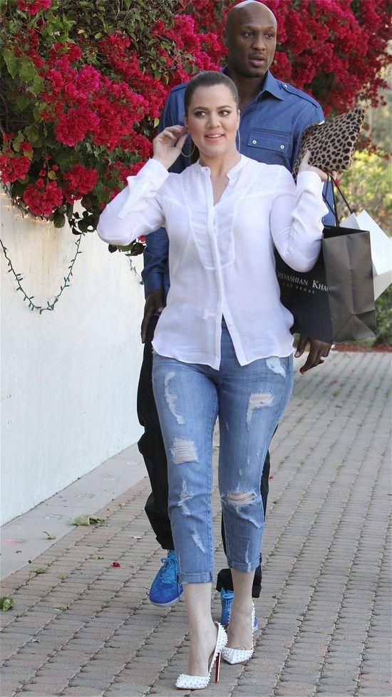 Co Khloe Kardashian dostała na urodziny od Lamara Odoma?