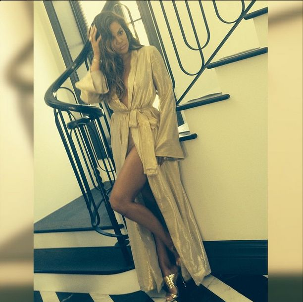 Tak Khloe Kardashian rywalizuje z siostrą? (FOTO)