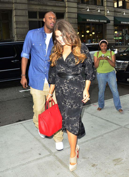 Khloe Kardashian i Lamar Odom chodzą na terapię dla par