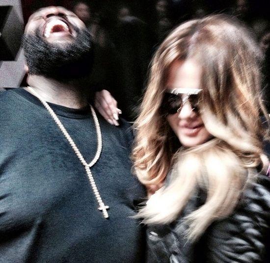 Rick Ross - nowy chłopak Khloe Kardashian? (FOTO)