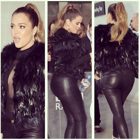 Khloe Kardashian przytyła? (FOTO)