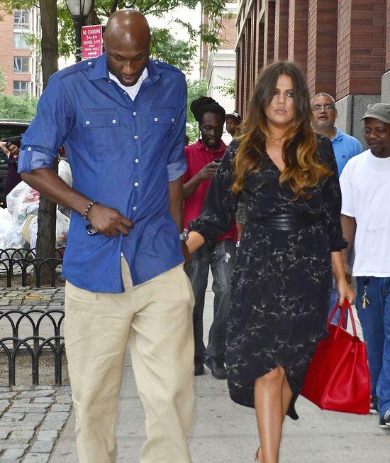 Khloe Kardashian nigdy nie zostawi Lamara Odoma