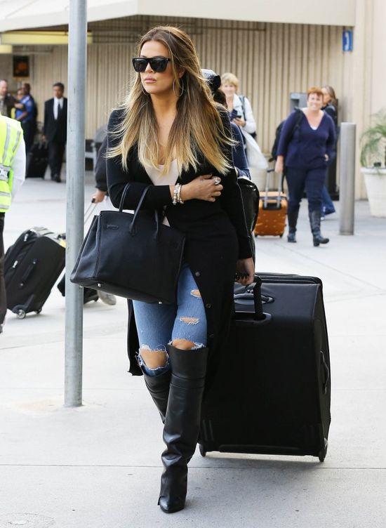 Nawet chłopak sugeruje Khloe Kardashian, żeby schudła
