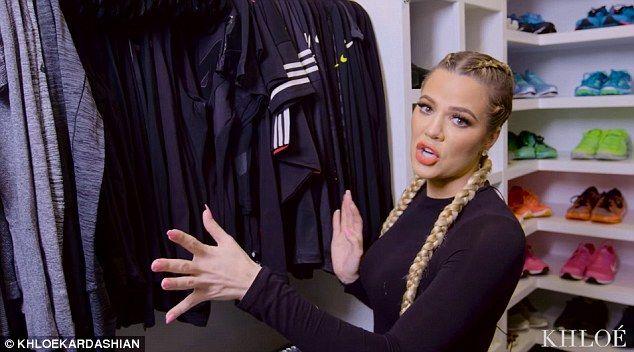 Khloe Kardashian wpuściła kamery do garderoby (FOTO)