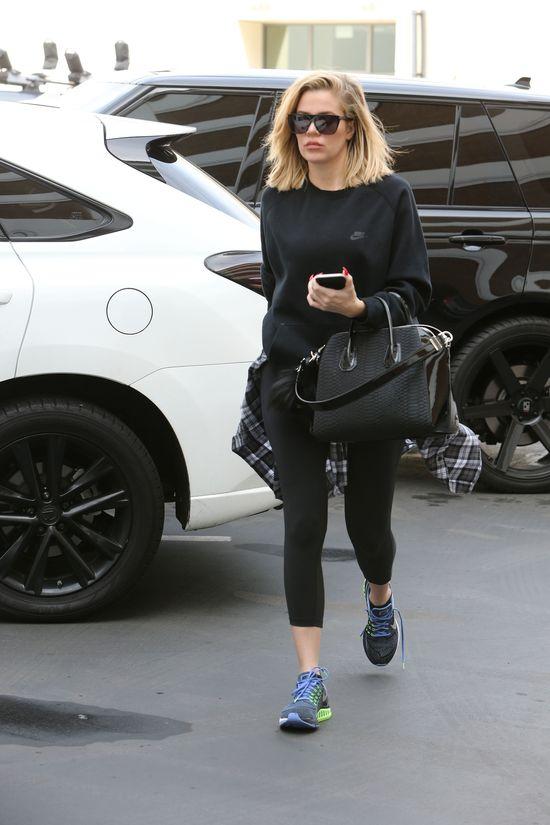 Dzi�ki tej sztuczce Khloe Kardashian straci�a 5 kg