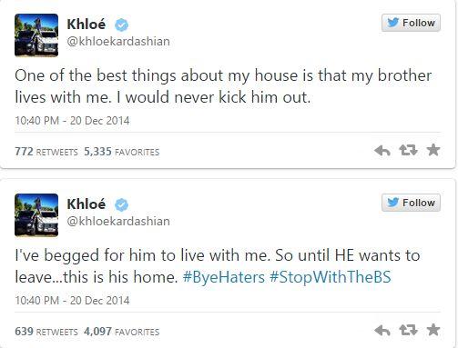 Te plotki rozw�cieczy�y Khloe Kardashian