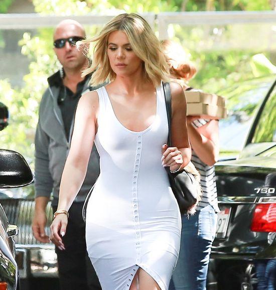 Khloe Kardashian tym komentarzem i zdjęciem SIĘGNĘŁA DNA