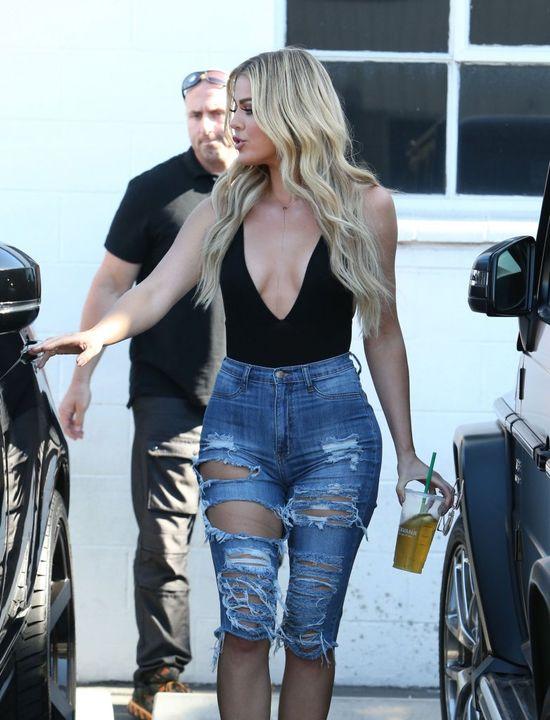 Khloe Kardashian straciła kontrolę nad własną pupą? (FOTO)