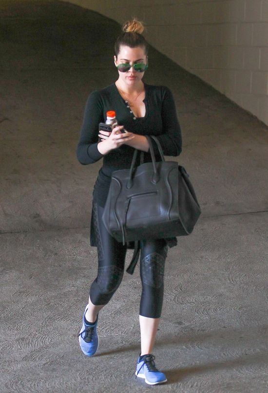 Khloe Kardashian - 60 dni na siłowni (FOTO)