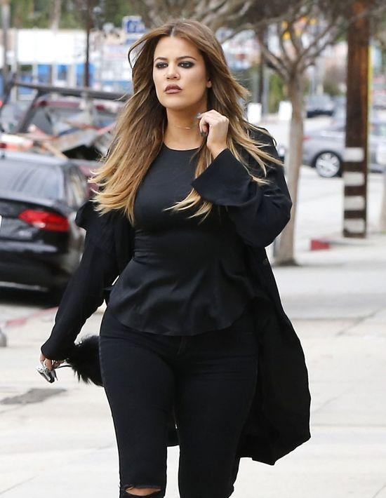 Khloe Kardashian o w�os od tragedii na planie show!