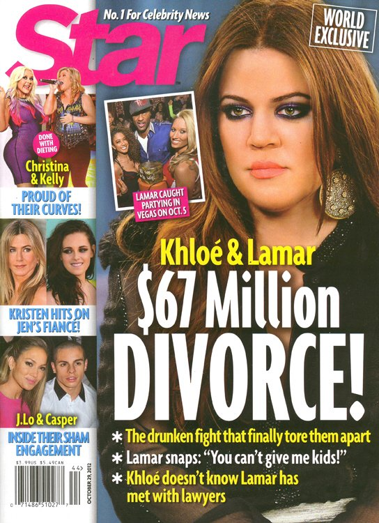 Lamar Odom chce si� rozwie�� z Khloe Kardashian?