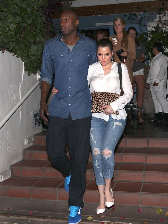 Khloe Kardashian zarządza finansami Lamara Odoma