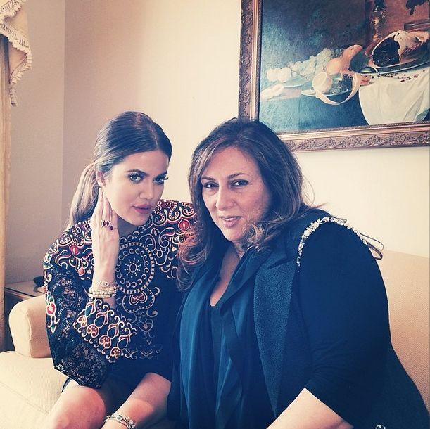 Khloe Kardashian przed ślubem Kim popełniła modową wpadkę
