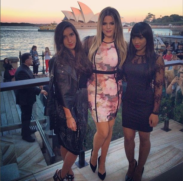 Siostry Kim kardashian naśladują jej styl? (FOTO)