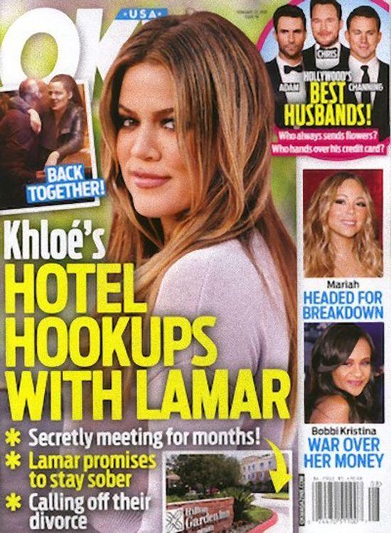Nie zgadniecie z kim Khloe Kardashian spędziła Walentynki