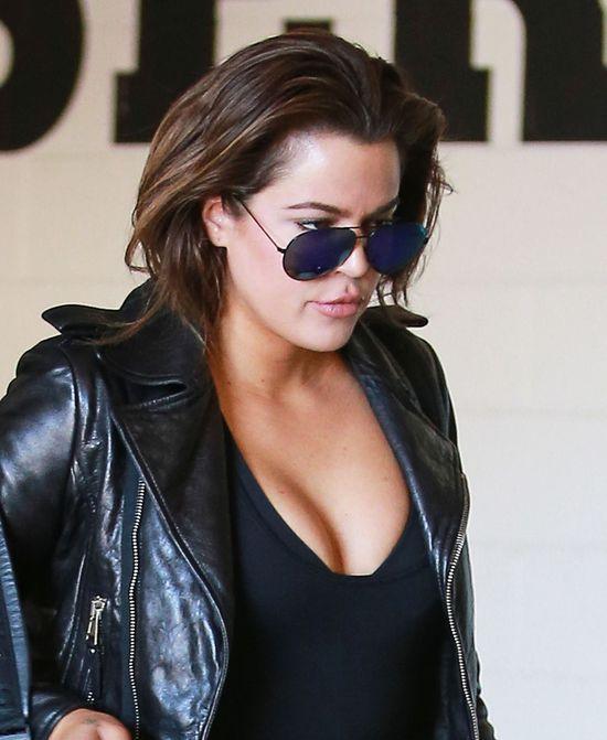 Khloe Kardashian zaliczyła sporą wpadkę (FOTO+VIDEO)
