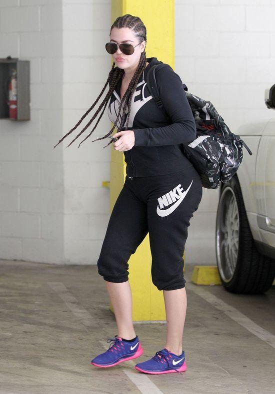 Khloe Kardashian znowu się oszpeciła (FOTO)