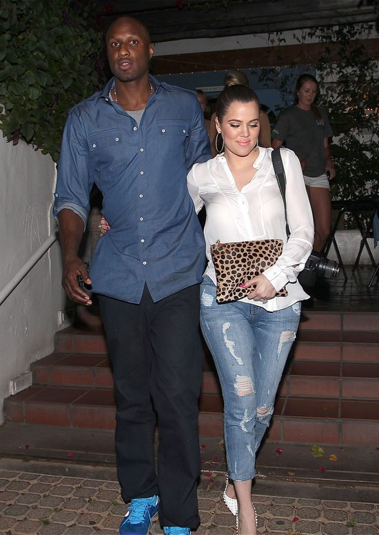 Lamar Odom WYSTRASZYŁ Khloe Kardashian na ulicy