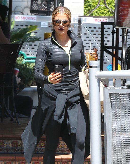 Khloe Karadshian na siłowni też musi wyglądać sexy (FOTO)
