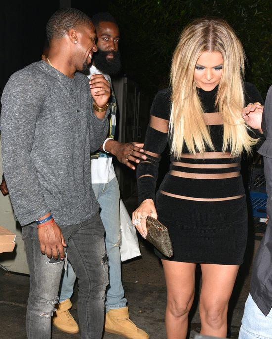 Khloe Kardashian nie wyjdzie już z domu bez ochroniarza