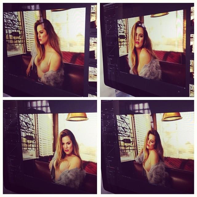 Khloe Kardashian też chce uchodzić za seksowną (FOTO)