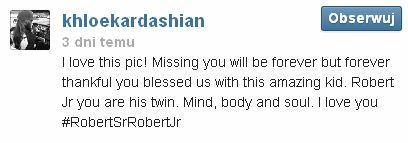 Khloe Kardashian zatęskniła za ojcem (FOTO)