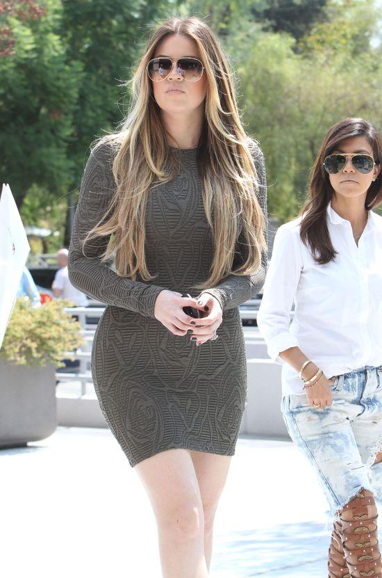 Khloe Kardashian nie może zdjąć obrączki!