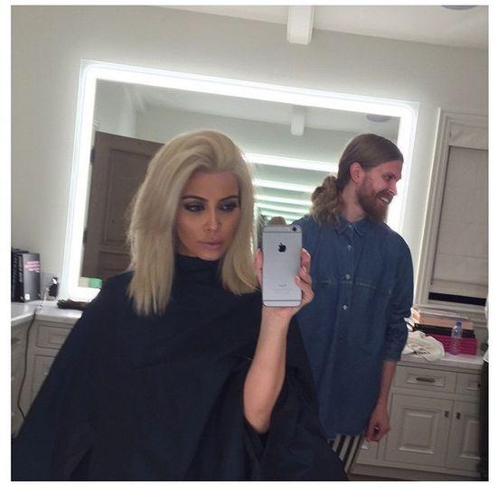 Kim Kardashian jest TLENIONĄ BLONDYNKĄ! (FOTO)