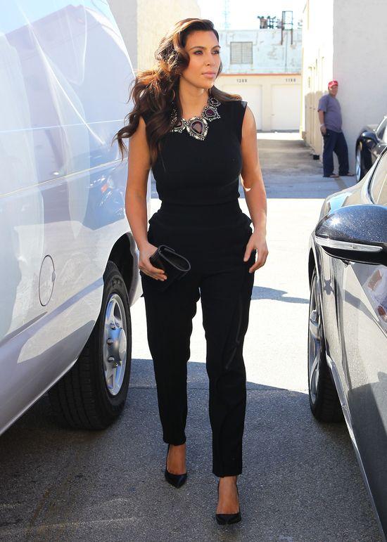Kim Kardashian poleciała na Paris Fashion Week (FOTO)