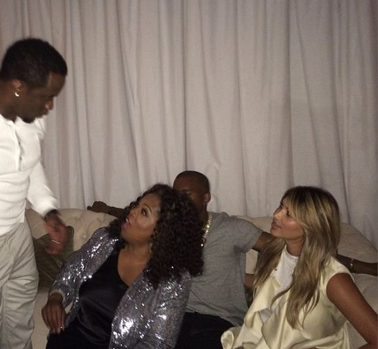 Oprah Winfrey i Kim Kardashian - nowe przyjaciółki? (FOTO)