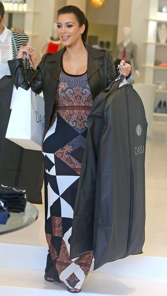 Kim Kardashian wydaje fortunę na ubranka dla Nori