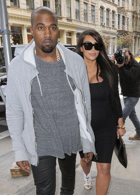 Kanye West zachwyca się córeczką