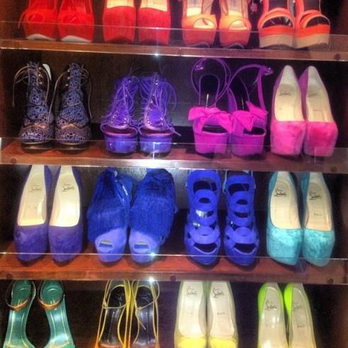 Marta Grycan w butach takich, jakie miała Kim Kardashian