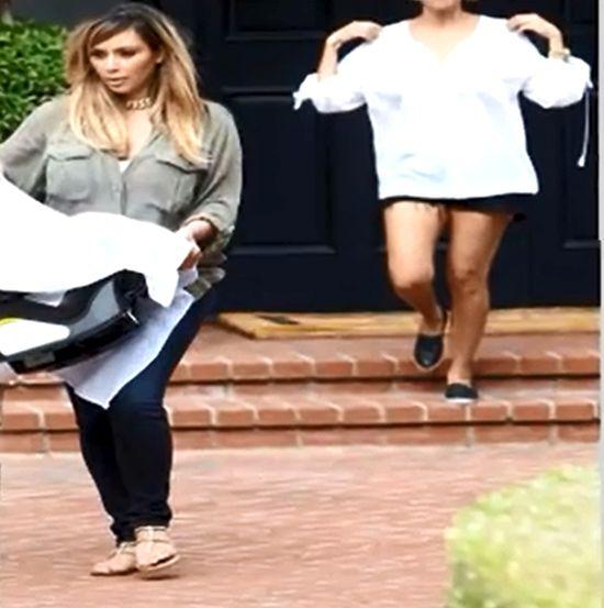 To Kanye West namówił Kim Kardashian na blond (VIDEO)
