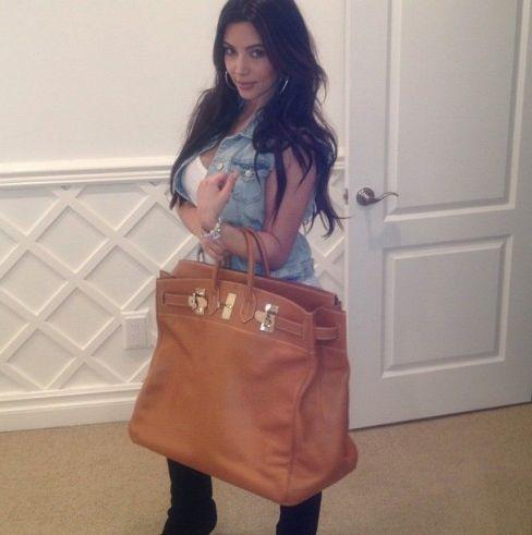 Kim Kardashian wyda�a 30 tysi�cy dolar�w na torb�...