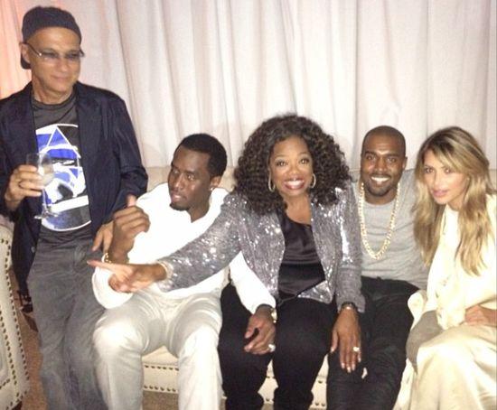 Oprah Winfrey i Kim Kardashian - nowe przyjaci�ki? (FOTO)