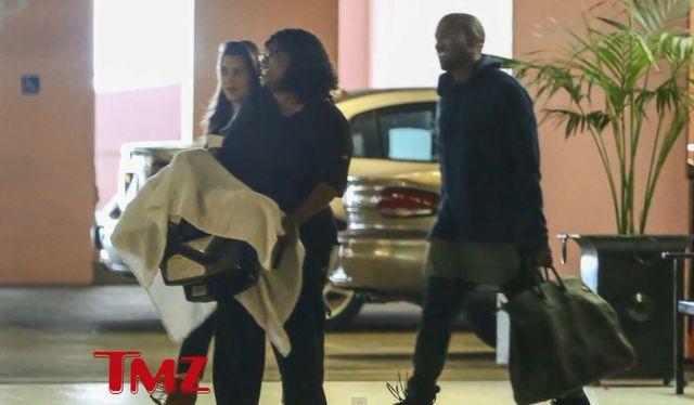 Pierwsze zdjęcie Kim Kardashian po porodzie to ustawka!
