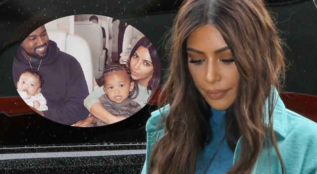 Kim Kardashian pochwaliła się rodziną (Instagram)