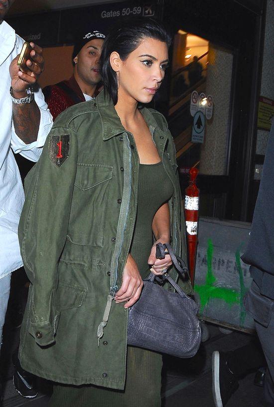 Już widać zarys ciążowego brzuszka Kim Kardashian?