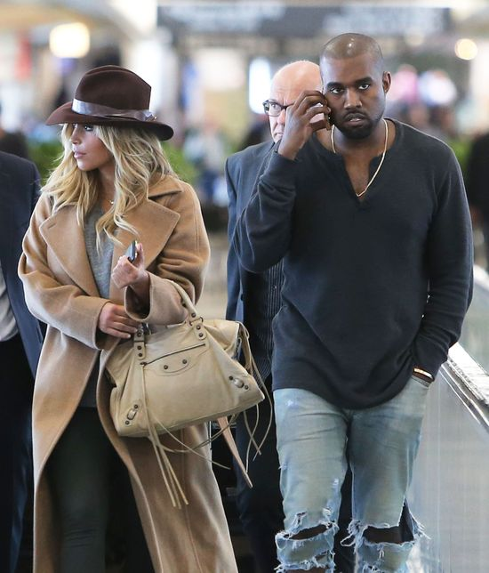 Kanye West b�aga Kim Kardashian, by wzi�li �lub
