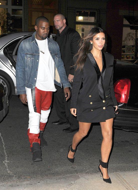 Kanye West: Kim kocha mnie bez wzg�du na moje pieni�dze