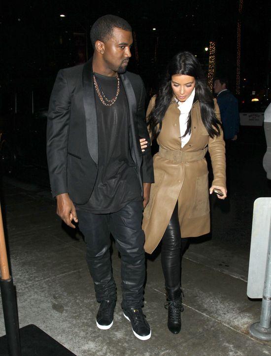 Kanye West o Kim Kardashian: Kocham ją, jest moją radością
